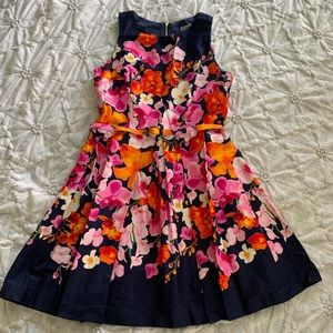 Eliza J Fit & Flare Floral Dress (NWOT)